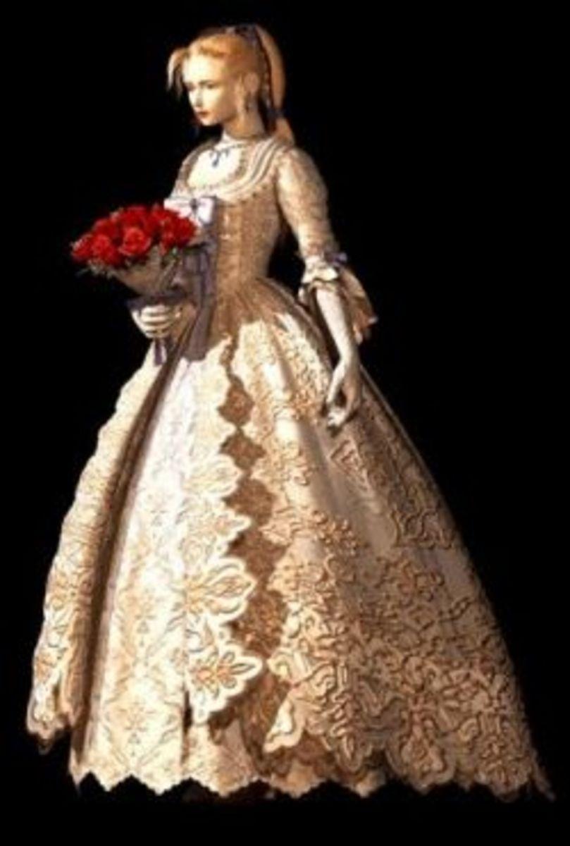 Celes' Opera Gown Final Fantasy VI