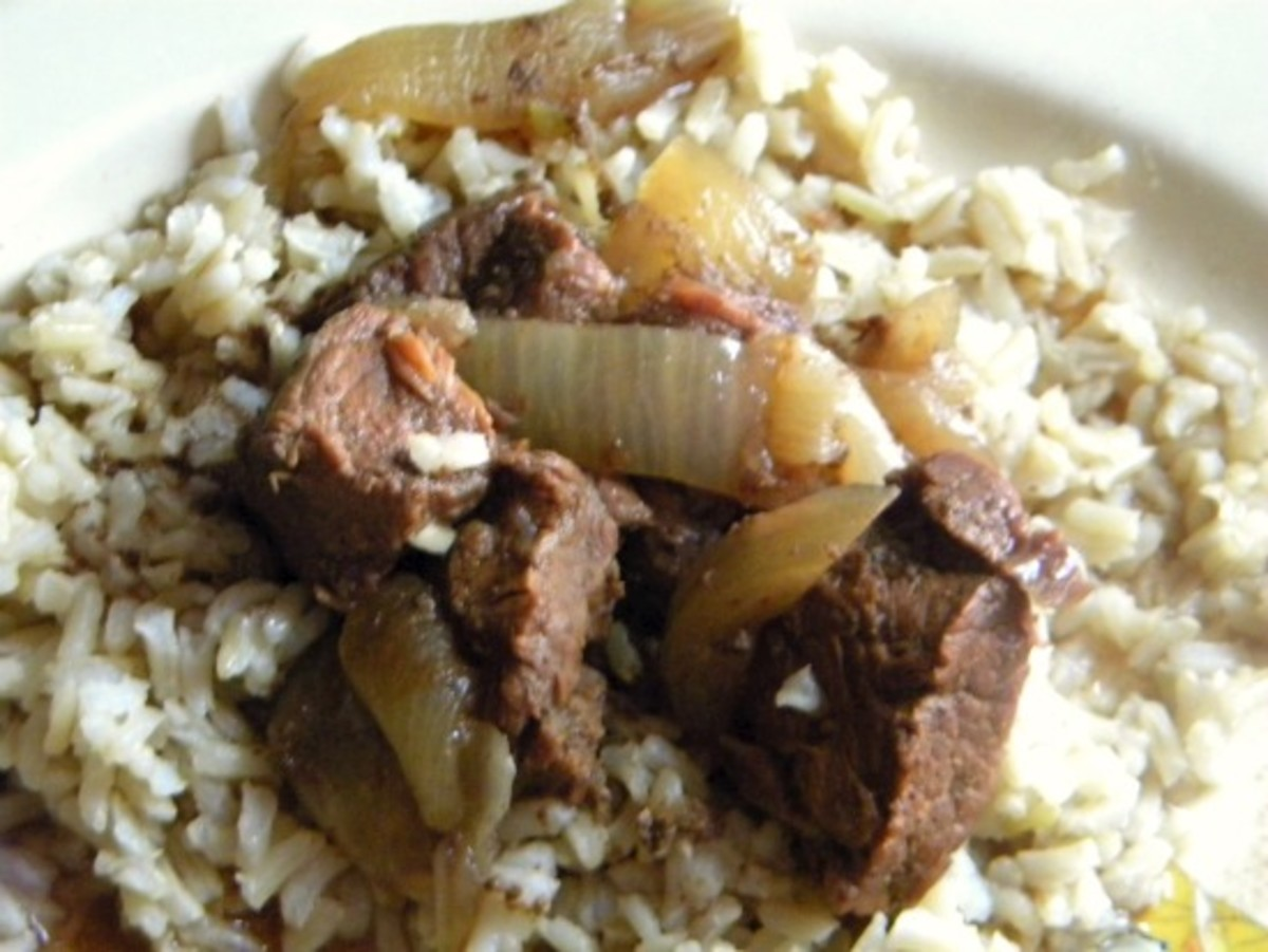 Beef Carbonnade is a warming winter dish - delicious with less tender, inexpensive cuts of beef.