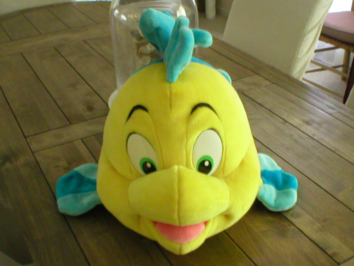 Flounder from the movie, The Little Mermaid
