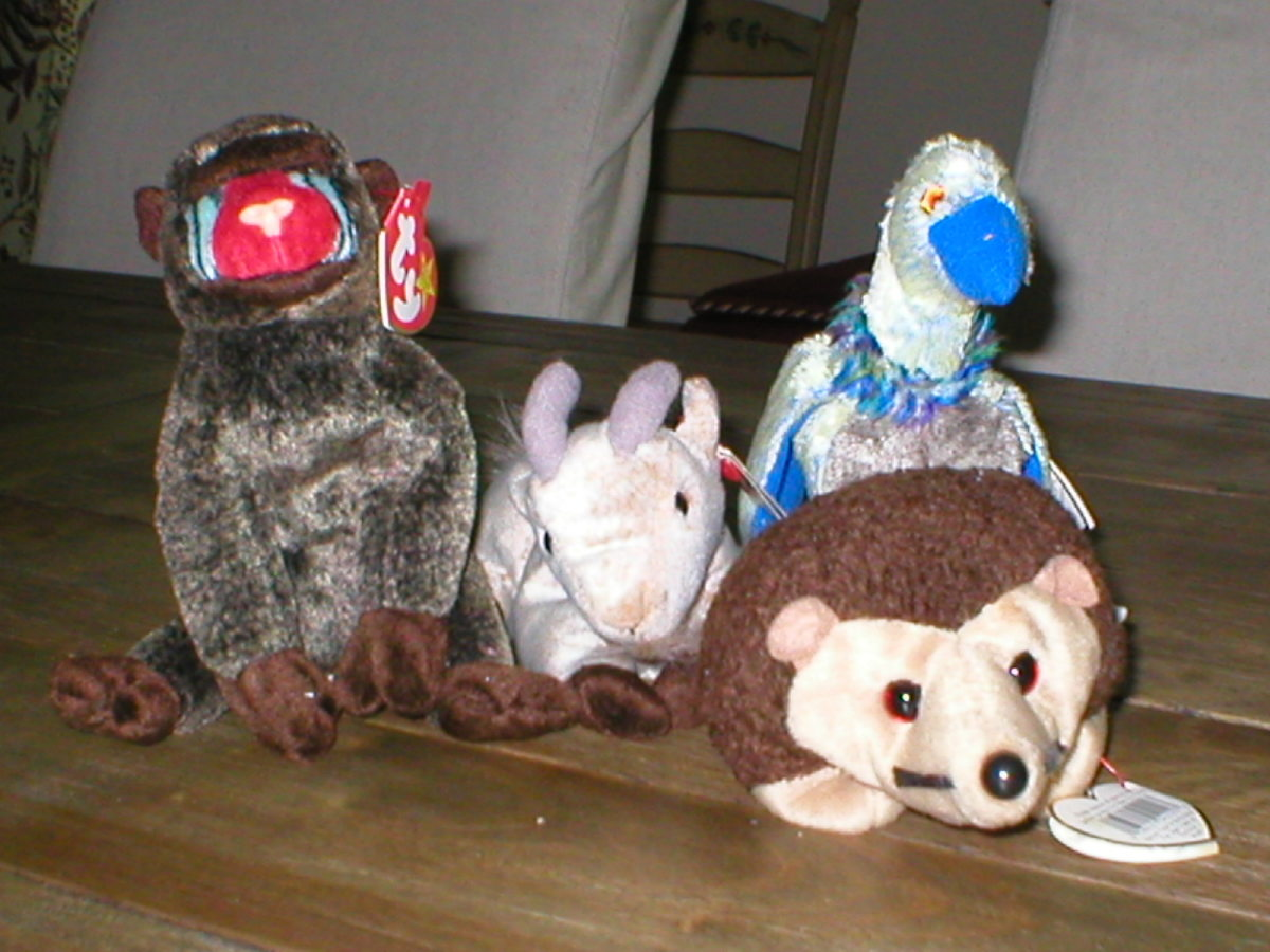 Family of Stuffed Animals