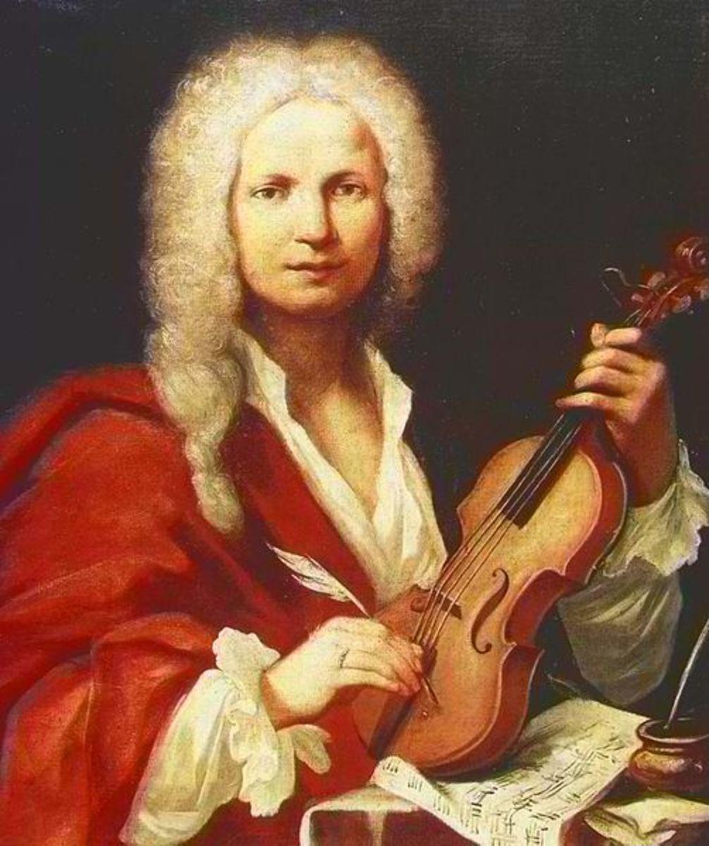 Portrait of Antonio Vivaldi.