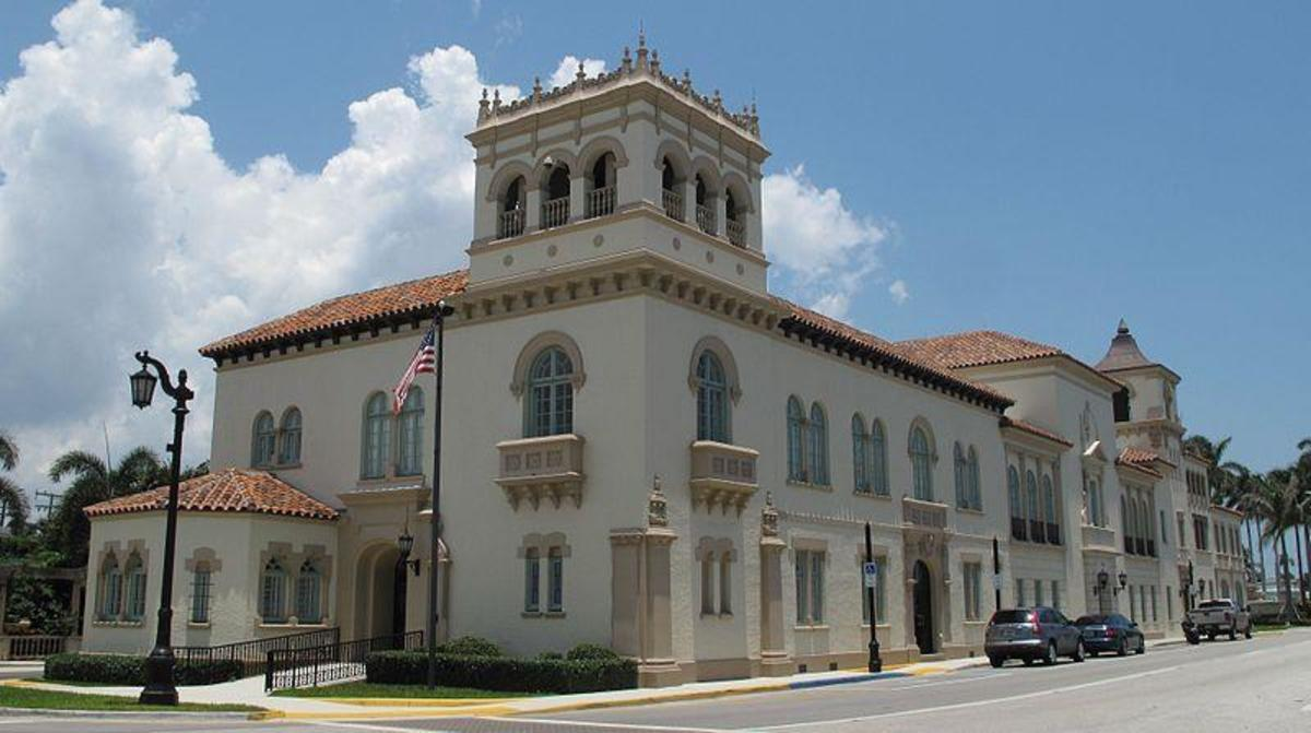 Be sure to visit the Town Hall in Palm Beach for more information on the local lore.