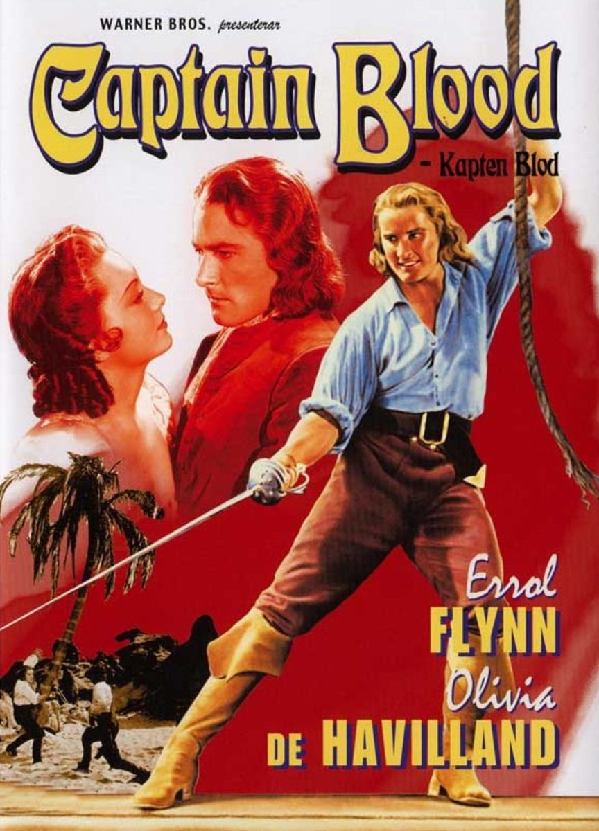 Captain Blood (1935) Swedish poster