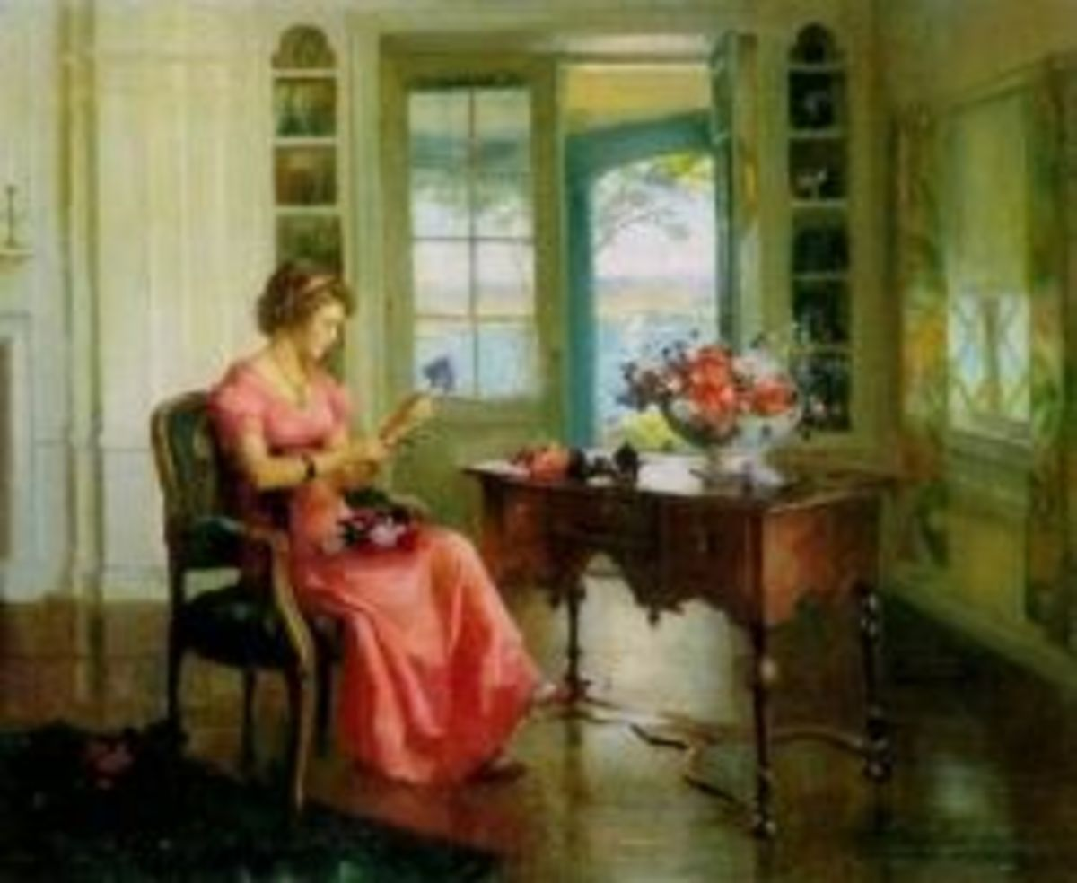 The Open Door by Marguerite Stuber Pearson