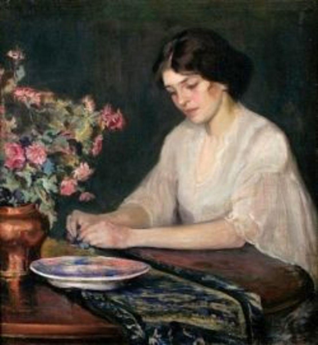 Contemplation, 1920