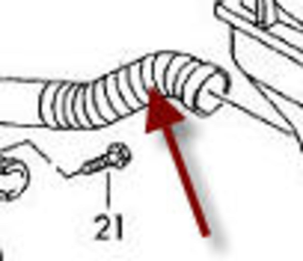 This small flex hose is a common problem or weak link and a tiny hole will cause the code.
