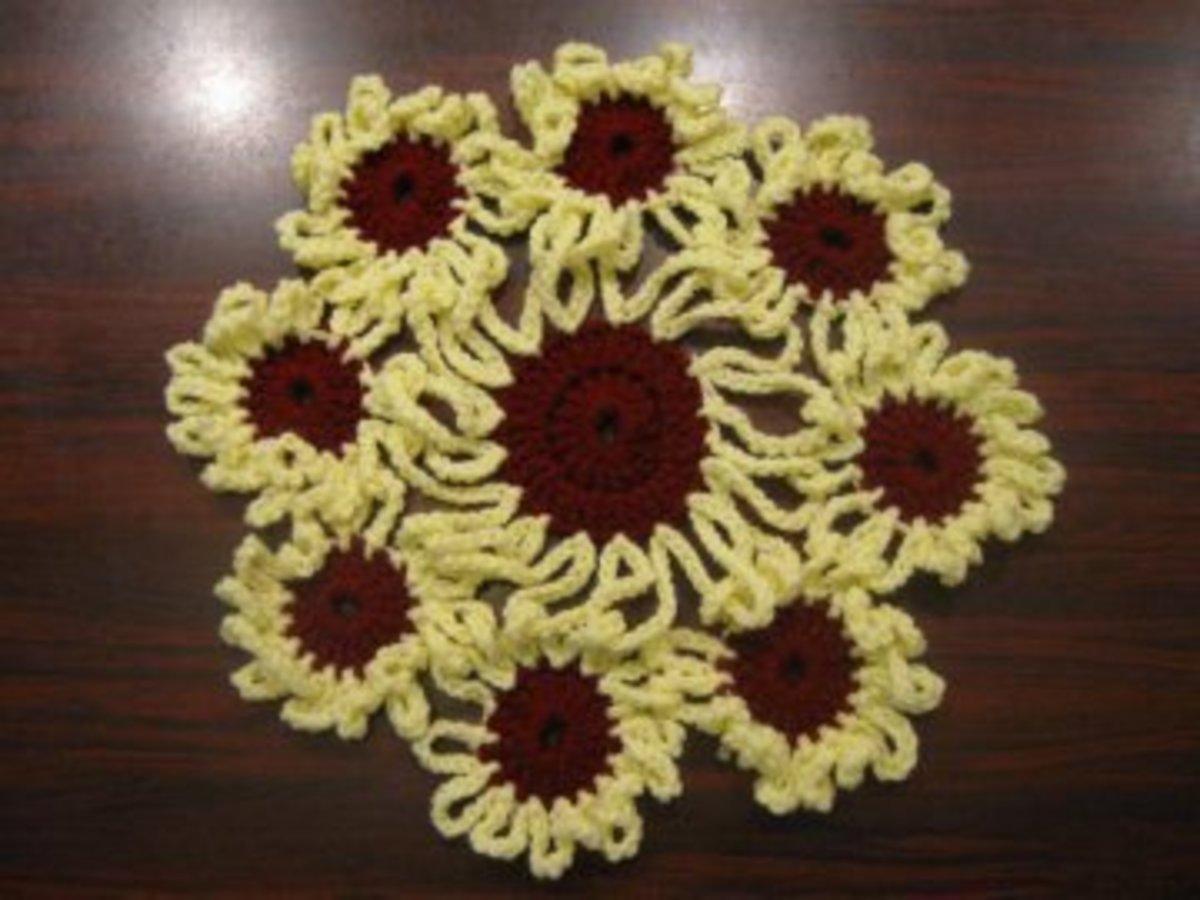Flower Doily - Meladora's Creations