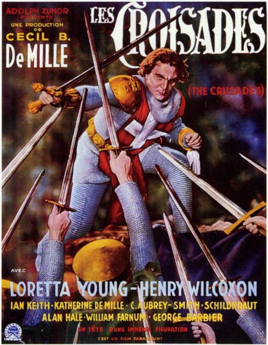 The Crusades (1935) French poster