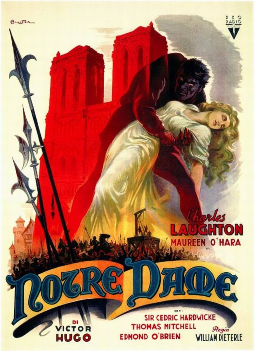 The Hunchback of Notre Dame (1939) Italian poster