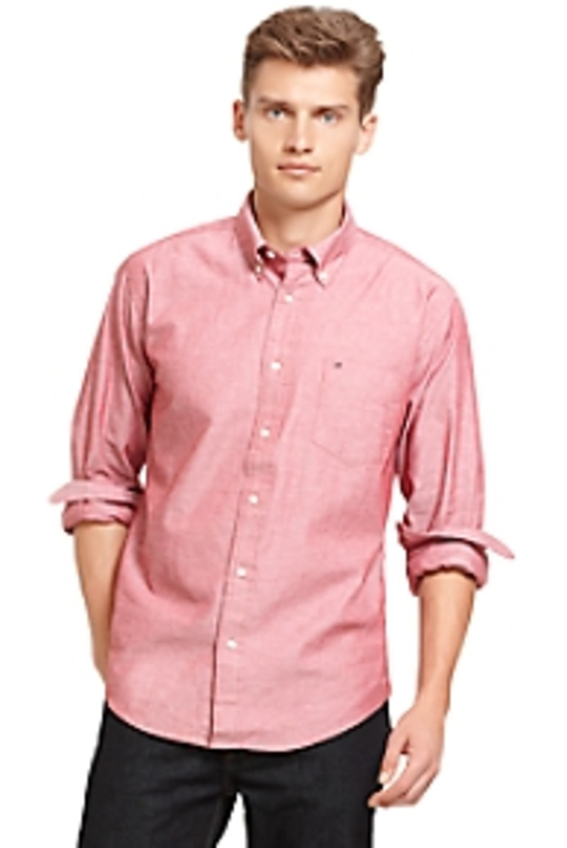 Tommy Hilfiger. Oxford Solid Shirt, $43.00