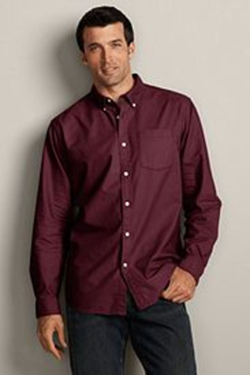 Eddie Bauer. Classic Fit Legend Wash Oxford Shirt, $39.95