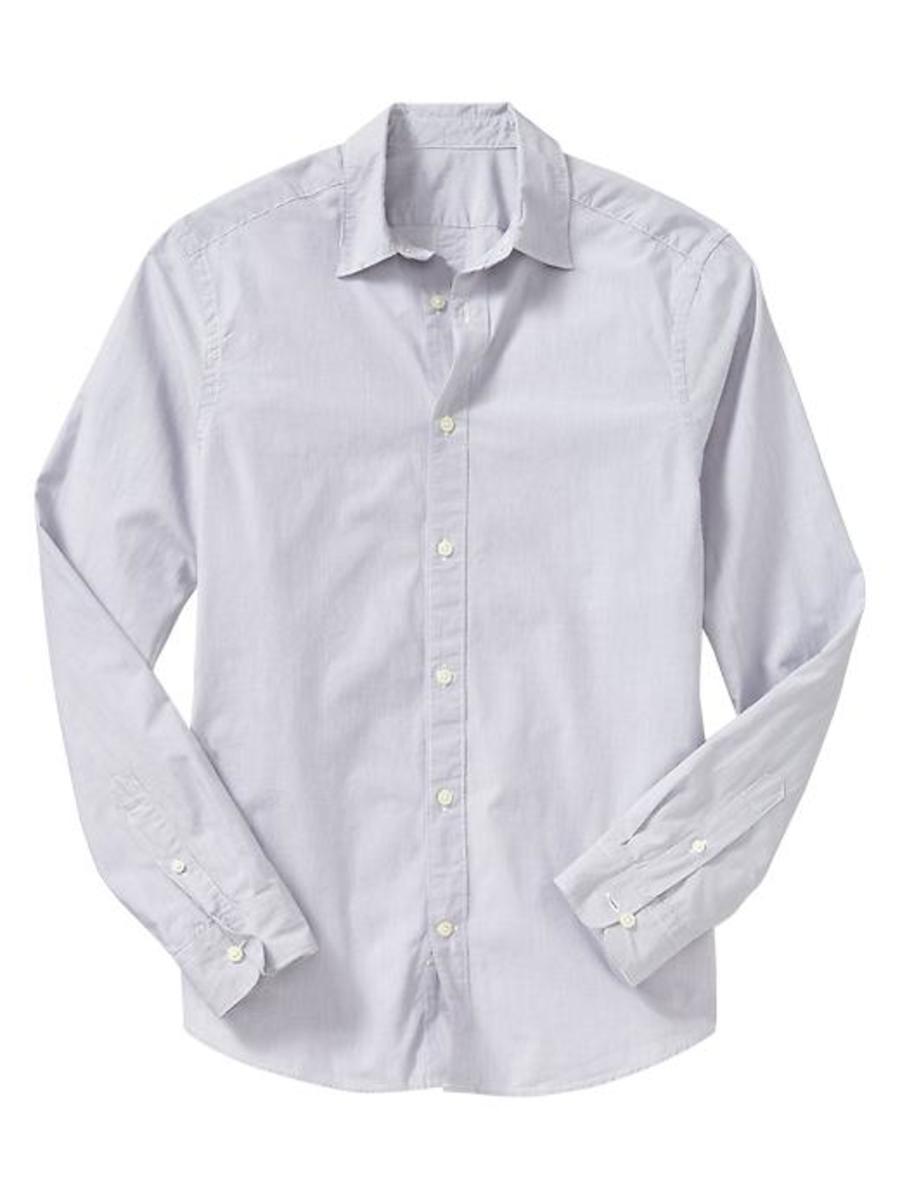 Gap. Striped shirt (slim fit), $17.99