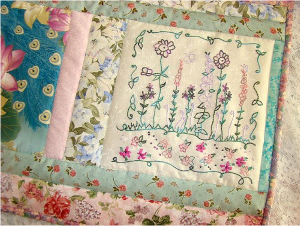 Be Creative with Ribbon Embroidery