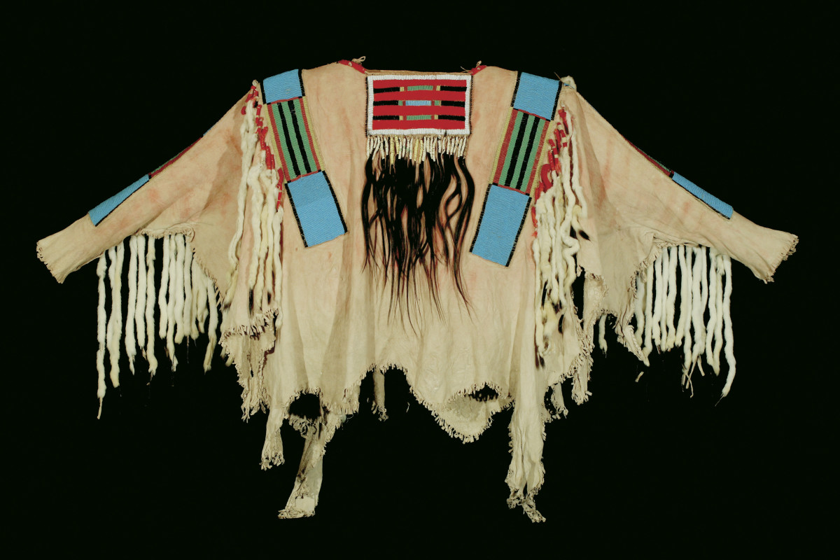 Making a Crow Indian War Shirt