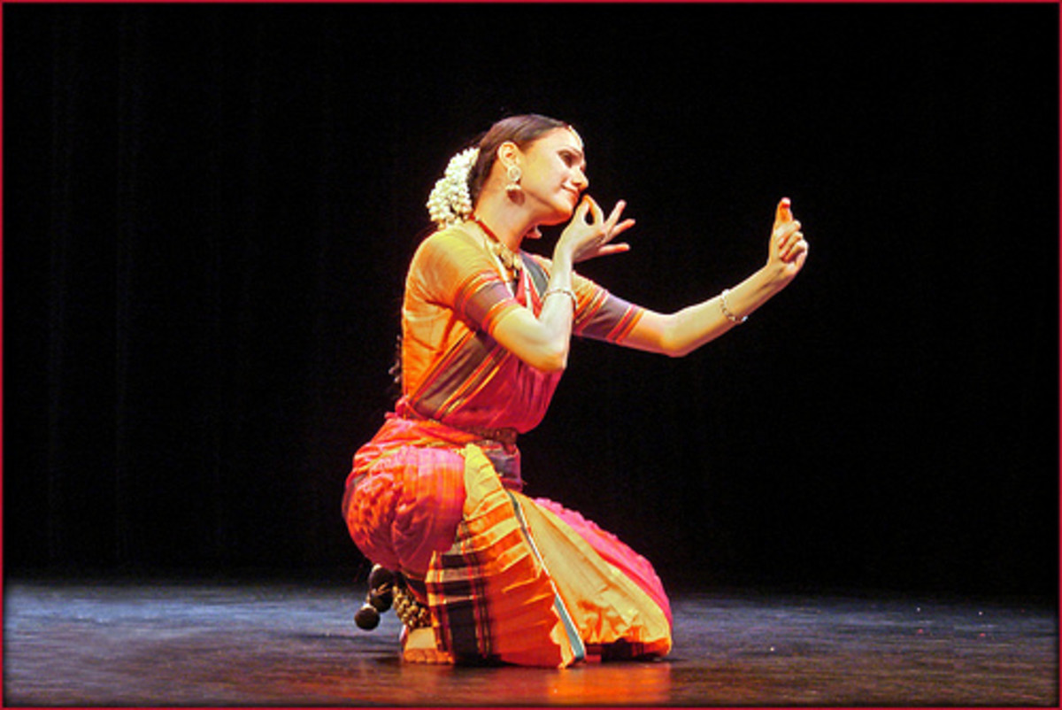 Bharatanatyam Dance from Tamil Nadu, India