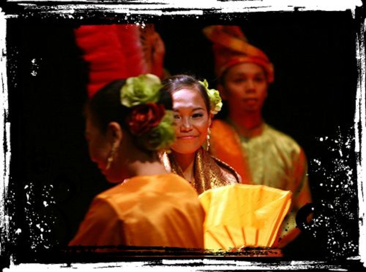 The Joget, one of  Malaysia's favorite dances