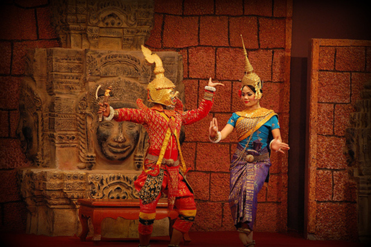 Apsara dance from Cambodia