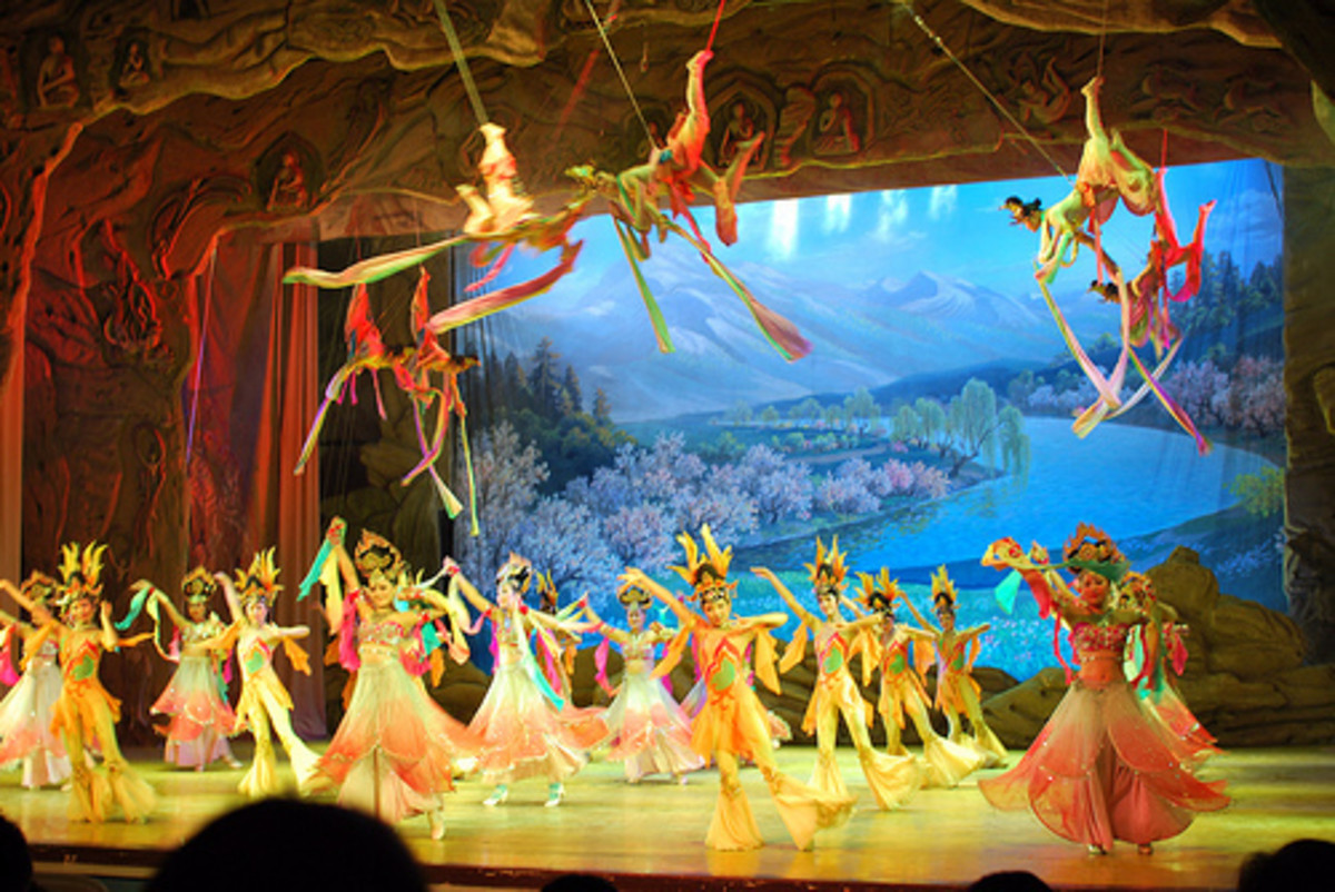 Dunhuang Dance from China