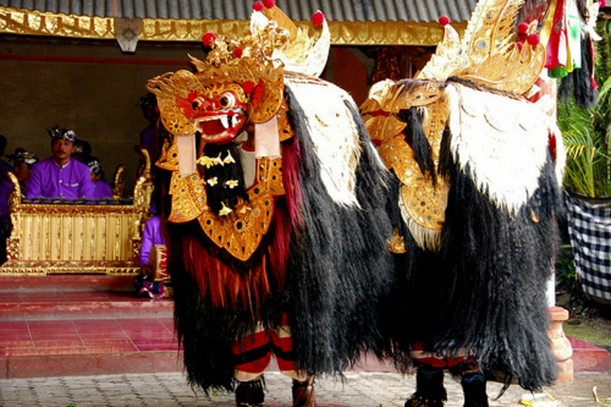 Barongan Dance from Indonesia