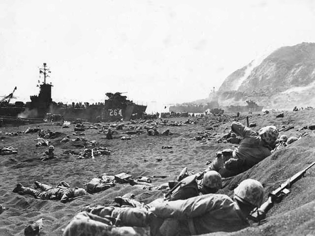 Iwo Jima: Conditions During the Battle
