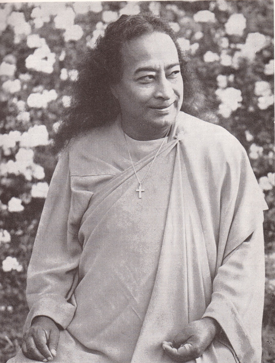Another wonderful photo of Yogananda