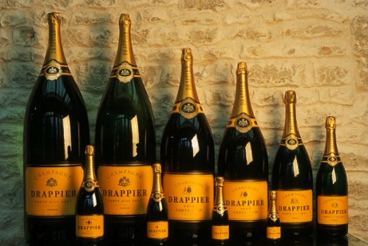 Champagne sizes