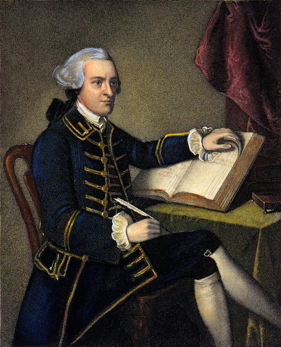 John Hancock ( 1737- 1793)