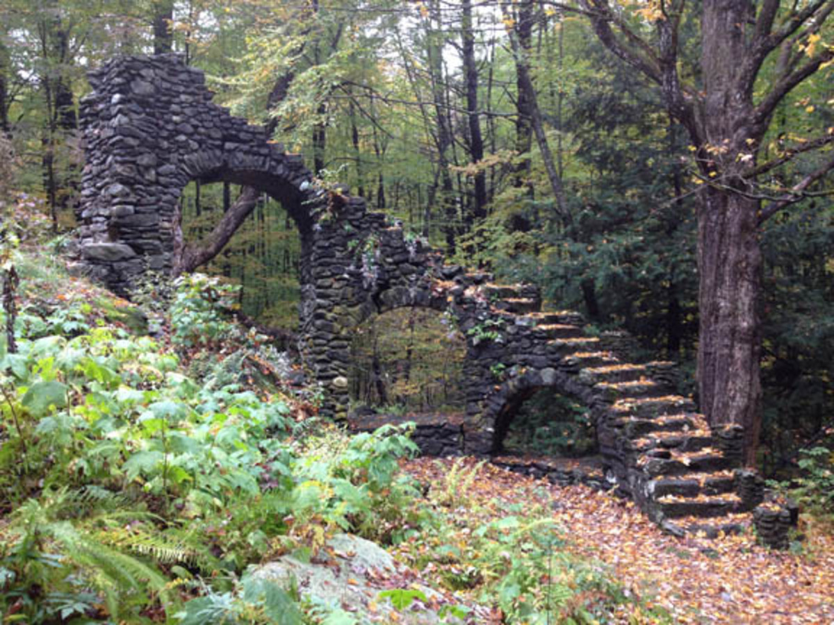 "A Hike Through Madame Sherri Forest and a Look at Her ""Stairway To Heaven""."
