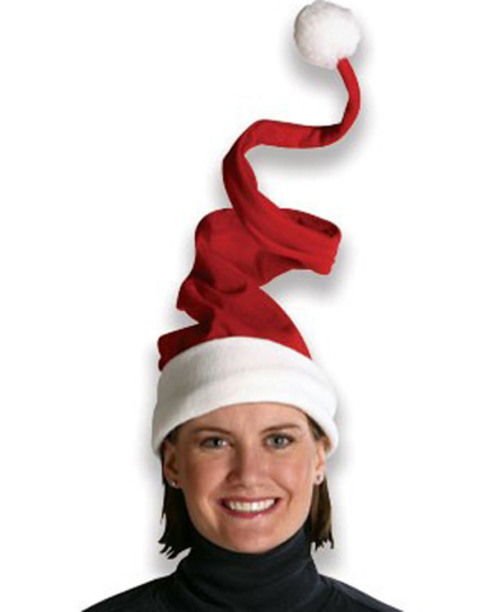 Spiral Santa Hat