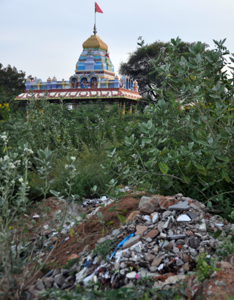 A lovely temple of Goddess Durga has come up on the banks of the river. But just below it, horrors lie hidden...