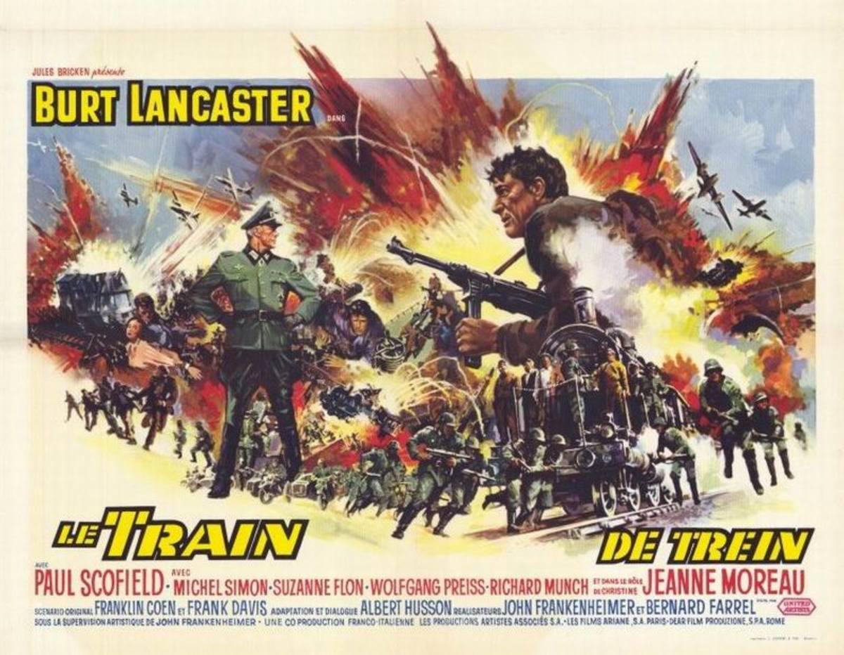 The Train (1964) Belgian poster