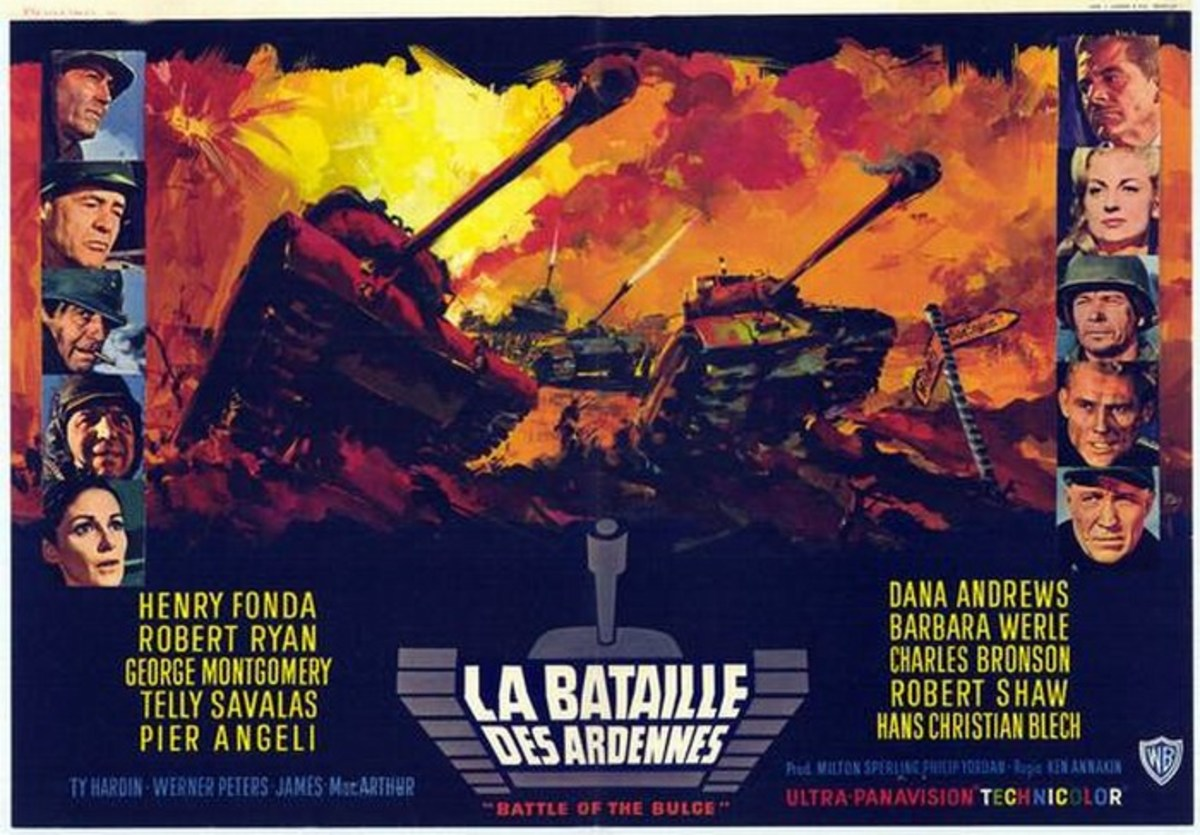 Battle of the Bulge (1965) French poster