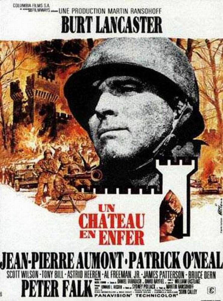 Castle Keep (1969) French poster