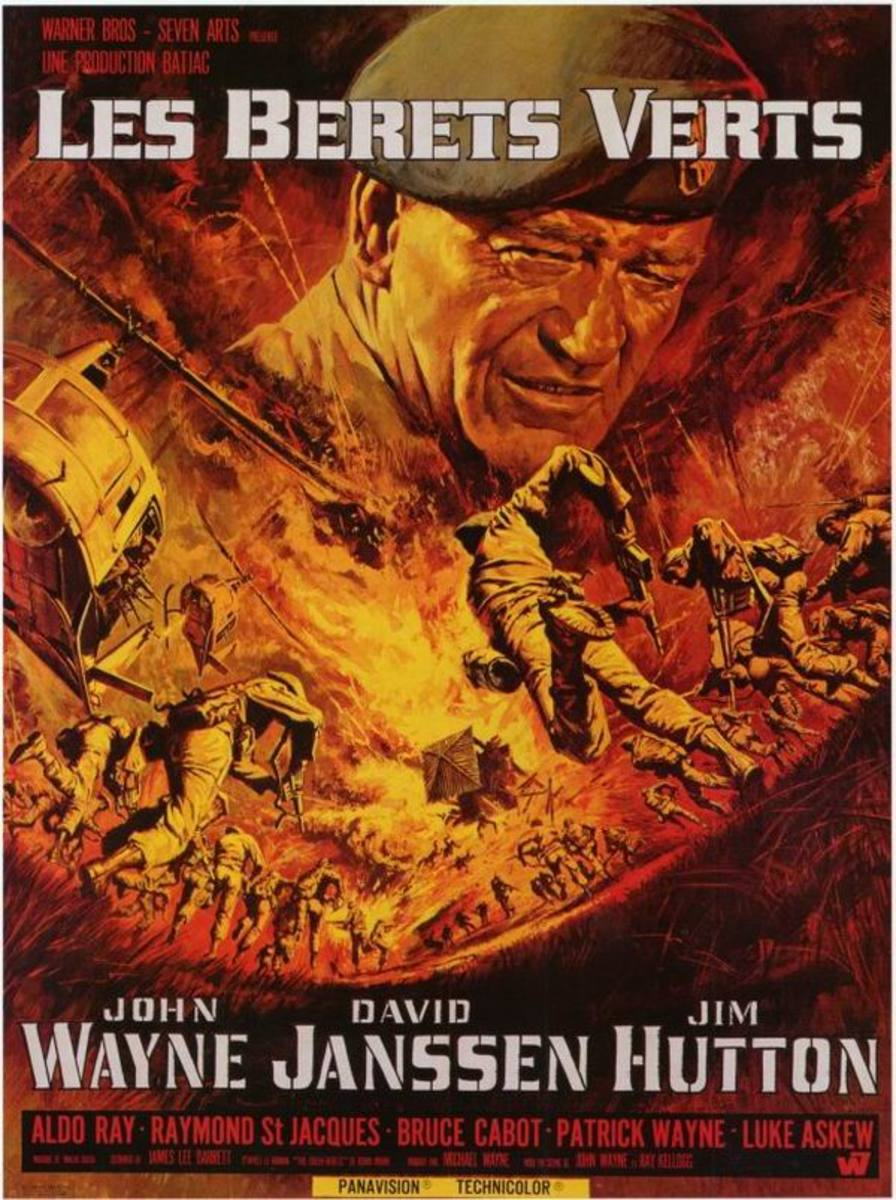 The Green Berets (1968) French poster