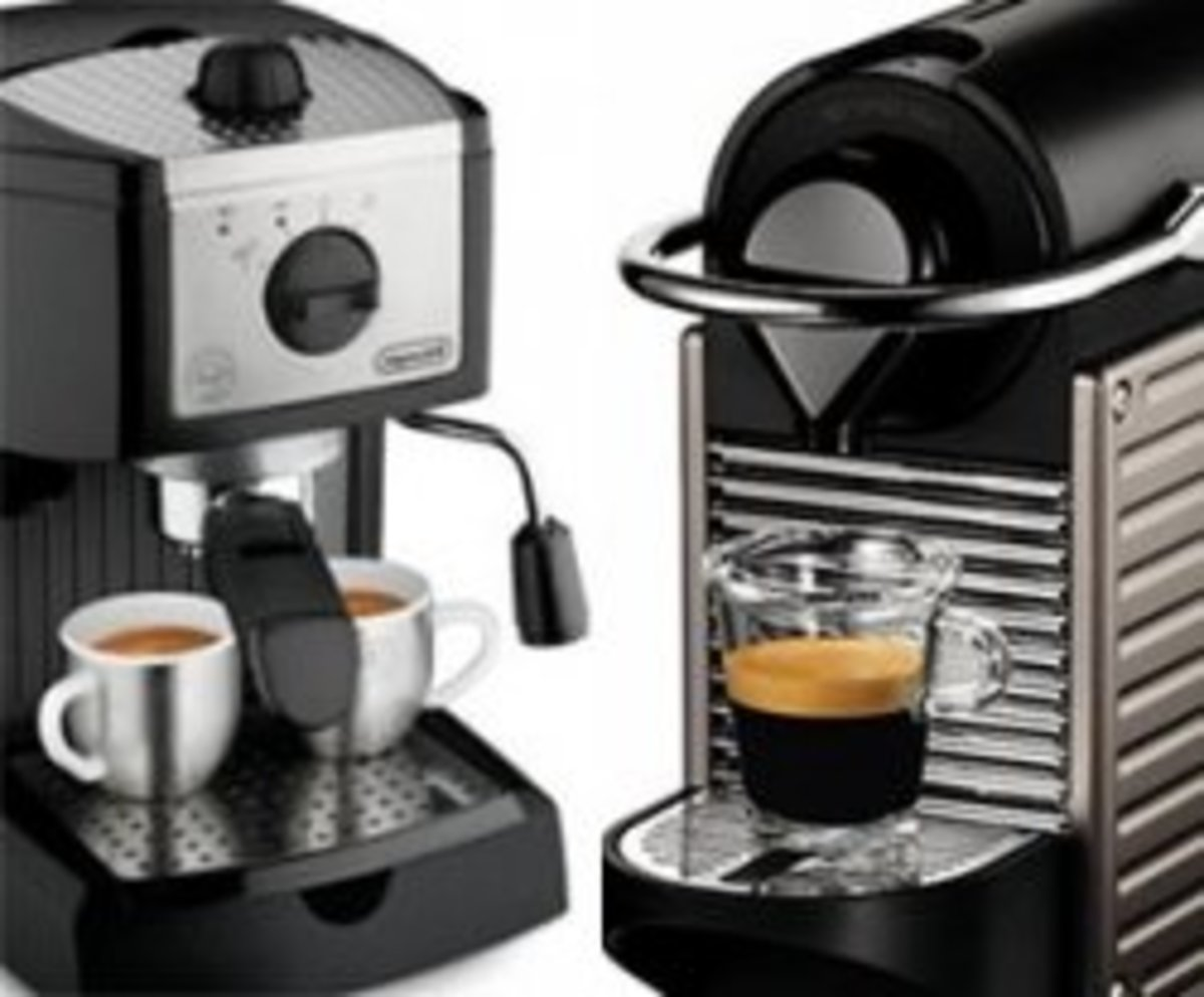 Nespresso vs. Espresso - Single Serve Machine vs. Espresso Maker