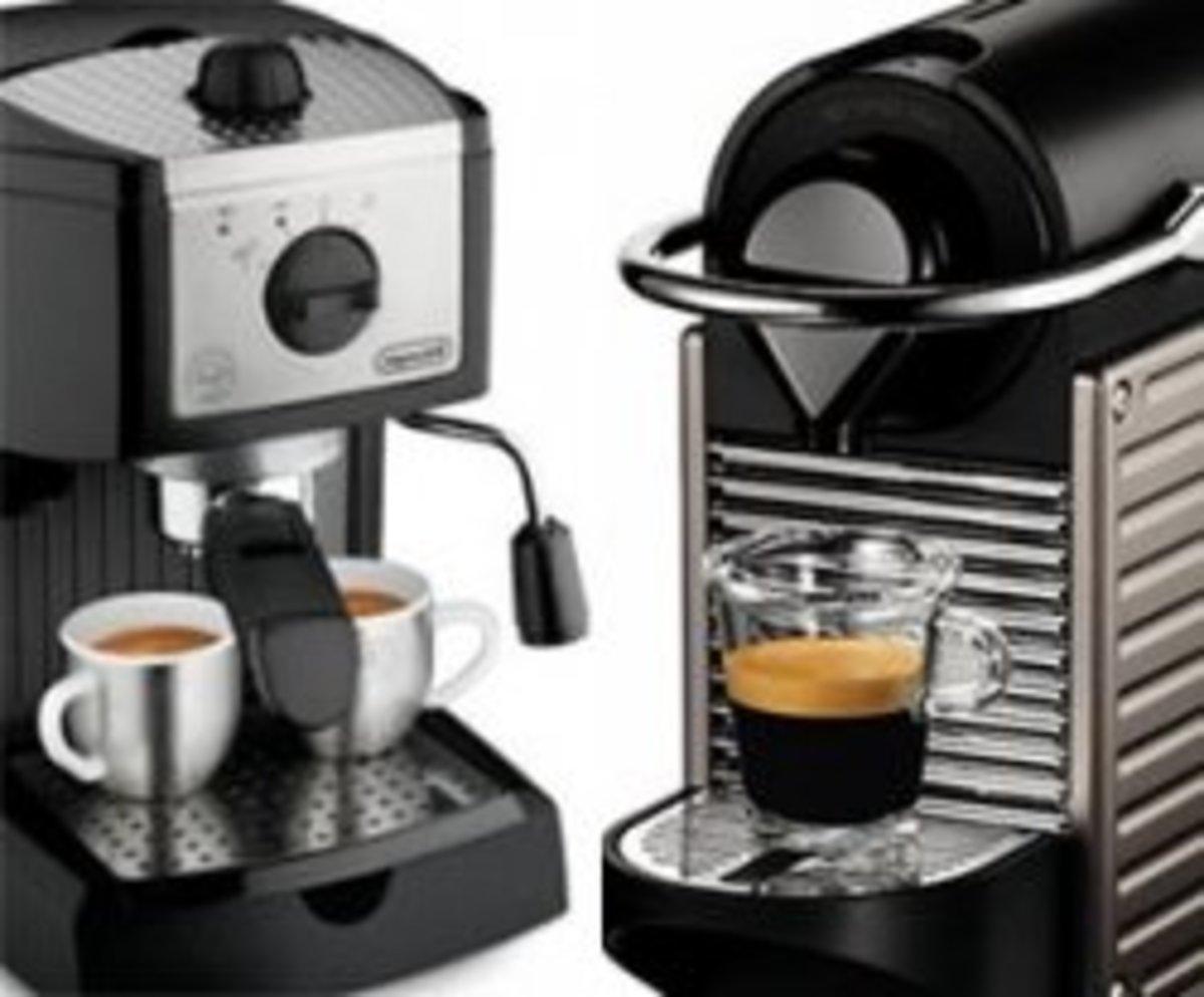 Nespresso vs. Espresso - Single Serve Machine vs. Espresso Maker HubPages