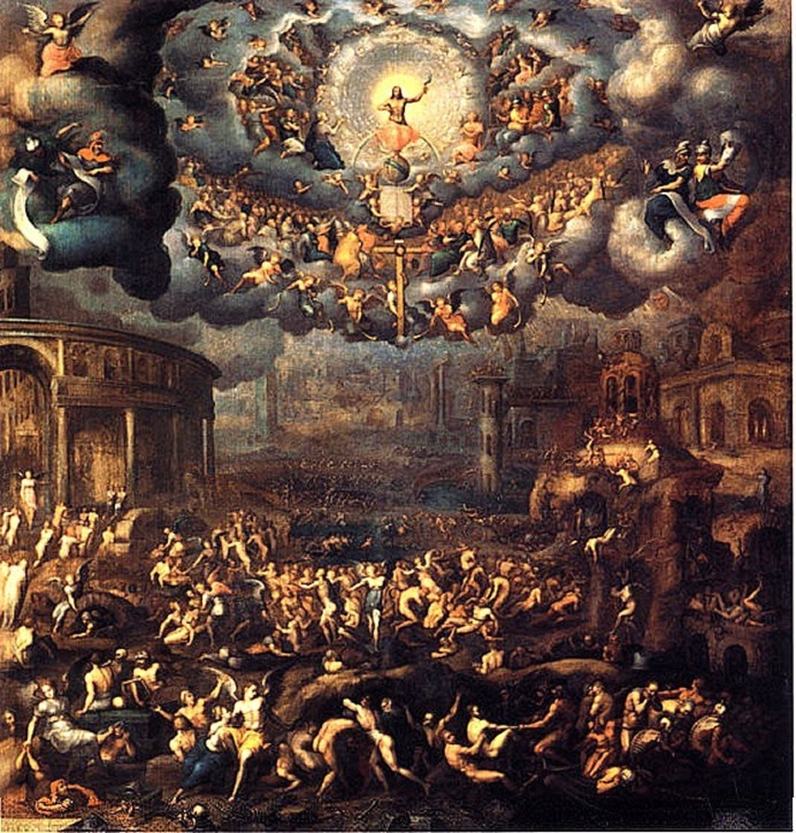 """THE LAST JUDGMENT"" BY JEAN COUSIN"