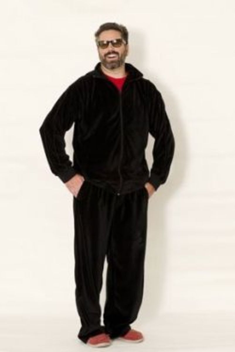 Velour Tracksuits for Men