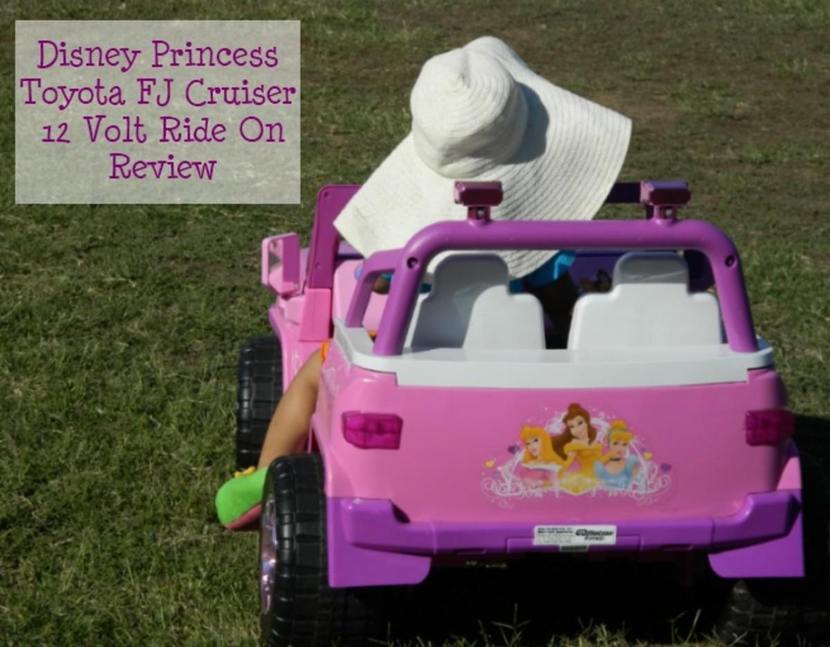 Disney Princess Toyota FJ Cruiser Ride On Review
