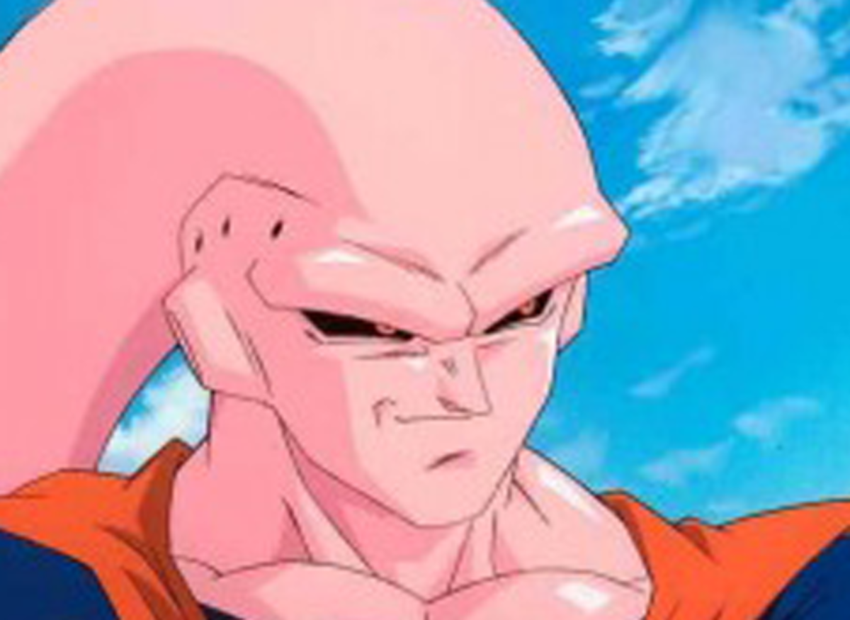 Majin Buu after consuming Gohan