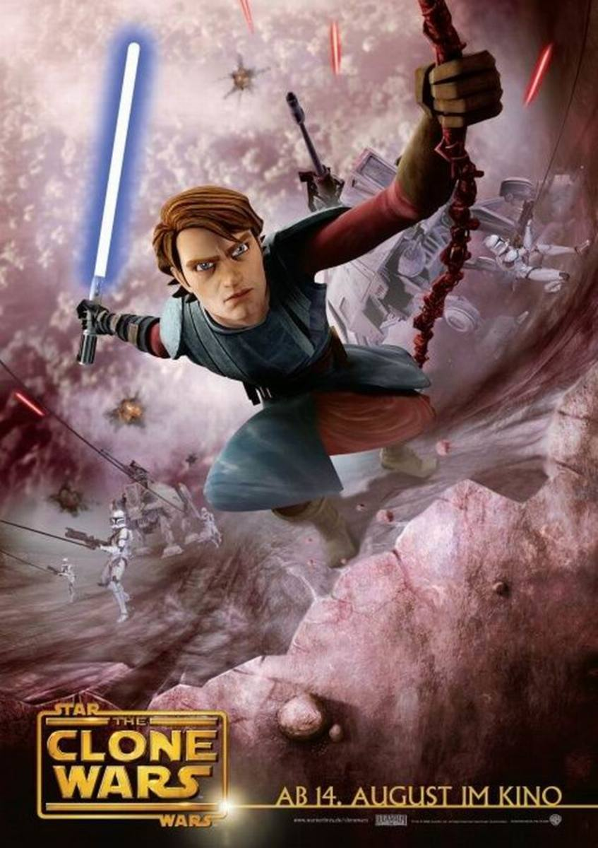 Star Wars: The Clone Wars (2008) German poster