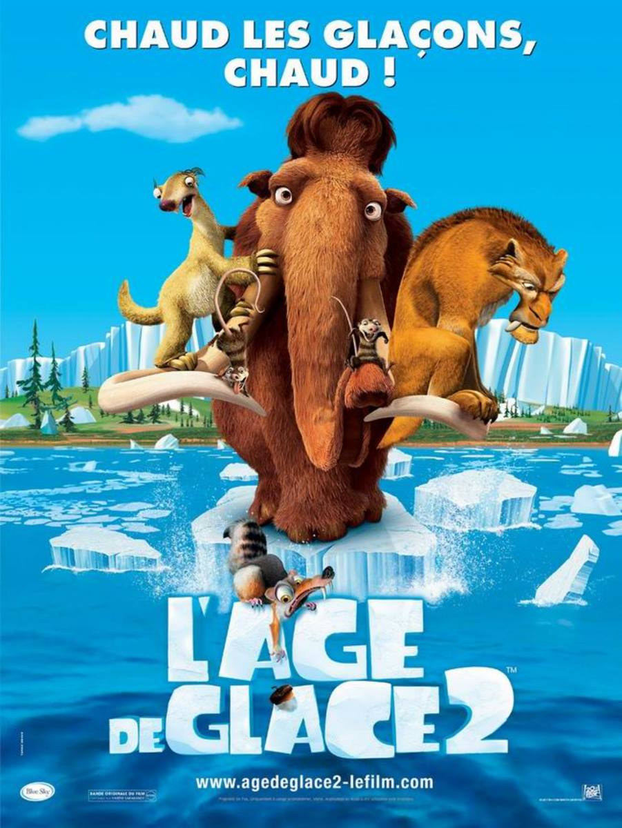 Ice Age 2 (2006) French poster