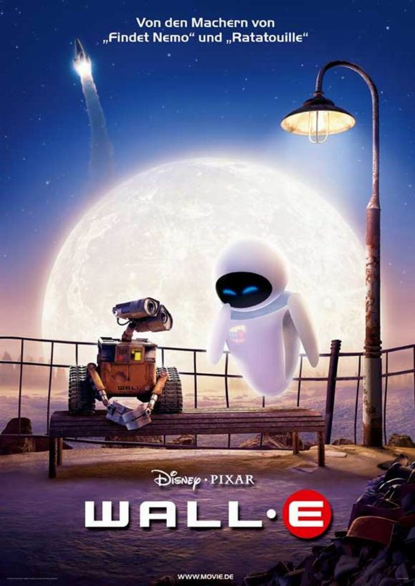 WALL-E (2008) German poster