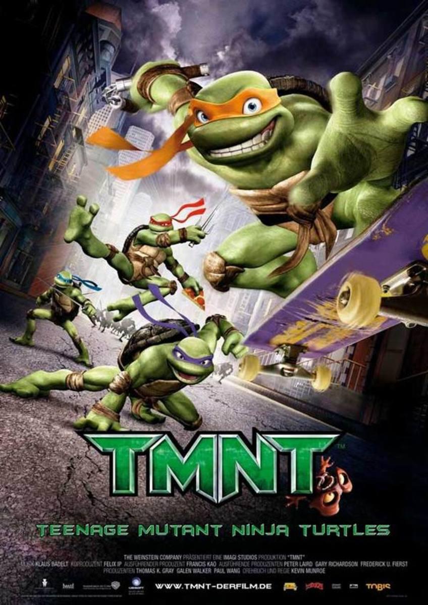TMNT (2007) German poster