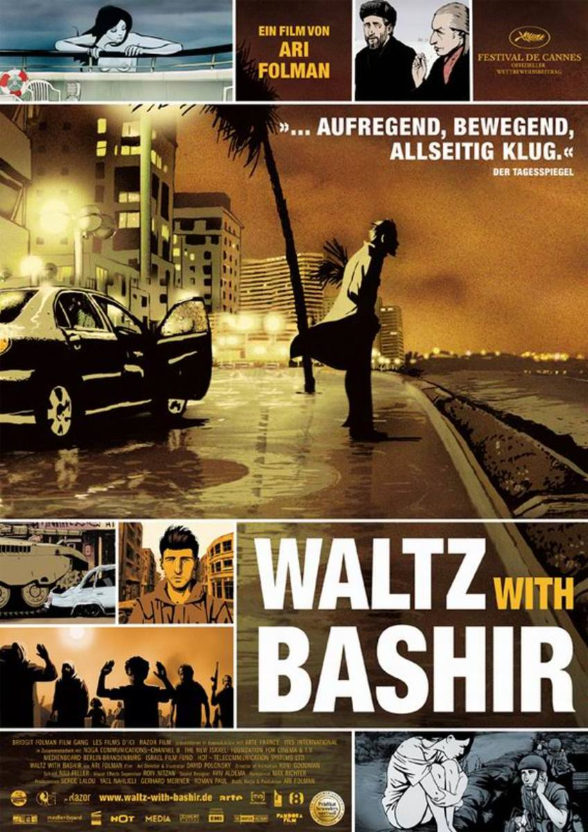Waltz With Bashir (2008) German poster