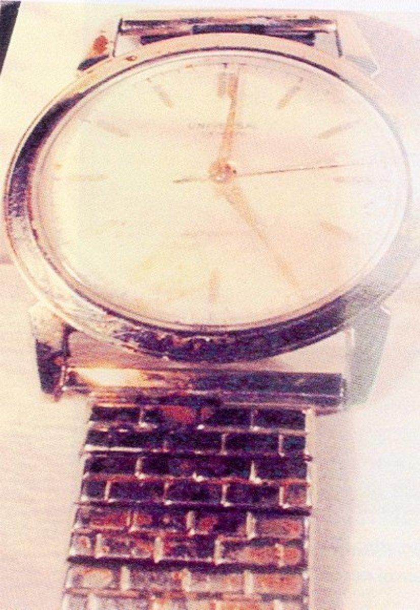 Sheppard's bloody watch