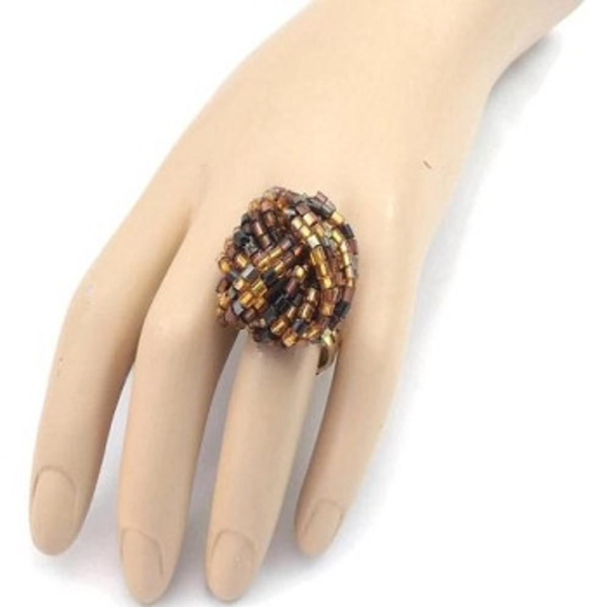 Twist upcycled ring by Dot Stitch