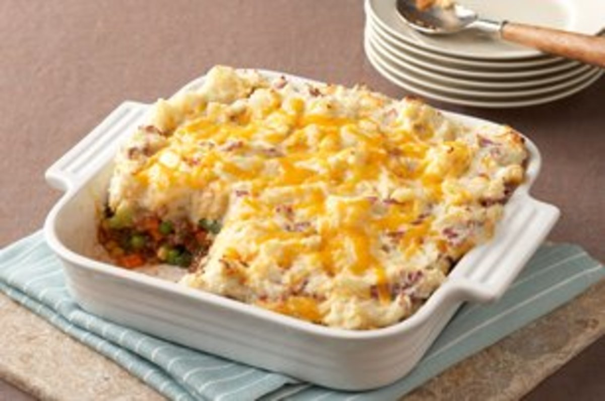 If your looking for a delicious recipe for Shepherds Pie then here it is.
