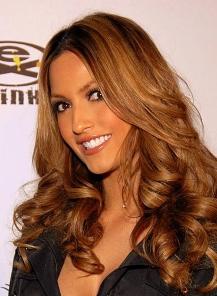 Pictures Of Light Golden Brown Hair Color