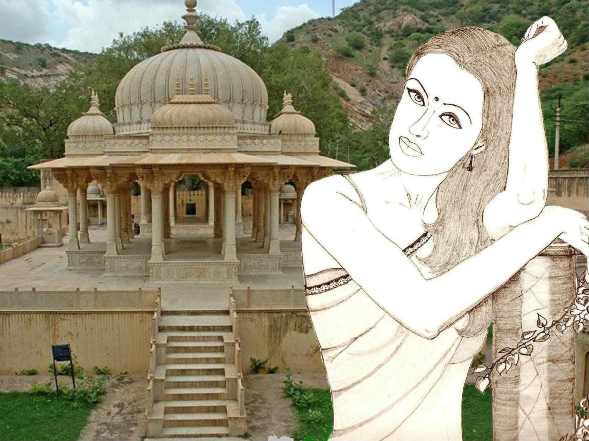 rape-of-draupadi-and-the-bheel-mahabharta